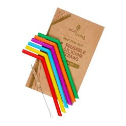 silicone smoothie straws