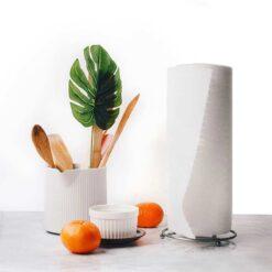 reusable kitchen roll on kitchen side