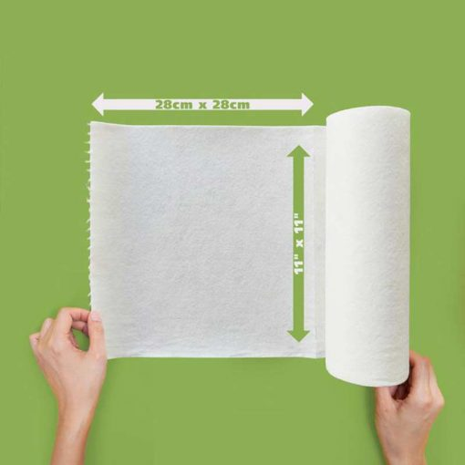 reusable kitchen roll size and spec