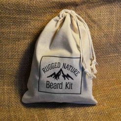 small cotton drawstring pouch