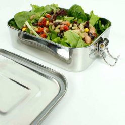 leak proof lunch box with salad inside