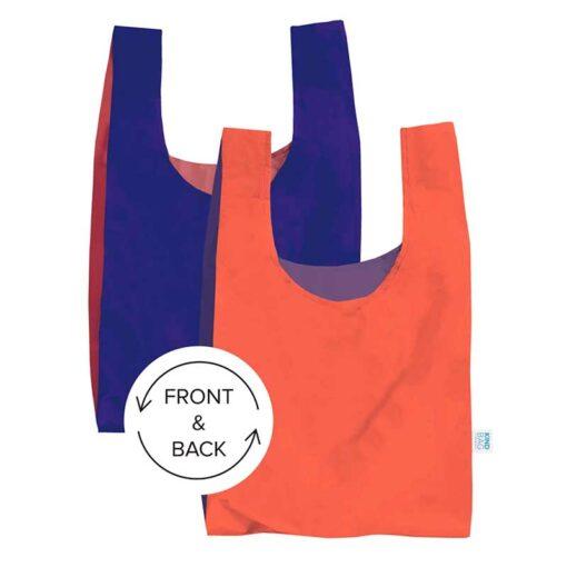 bicolour shopping bag