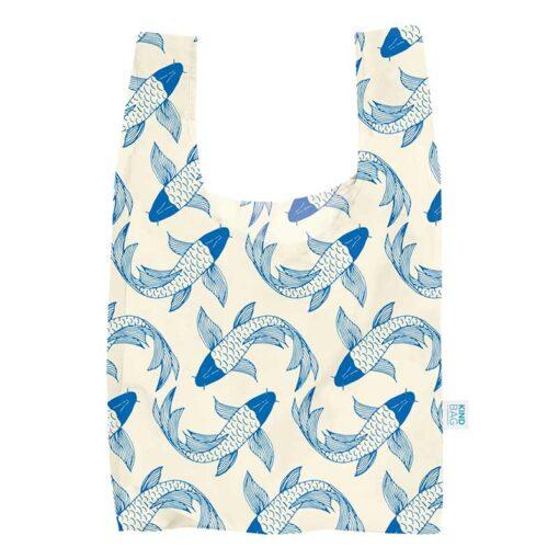 koi fish shopping bag