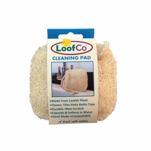 natural loofah cleaning pad