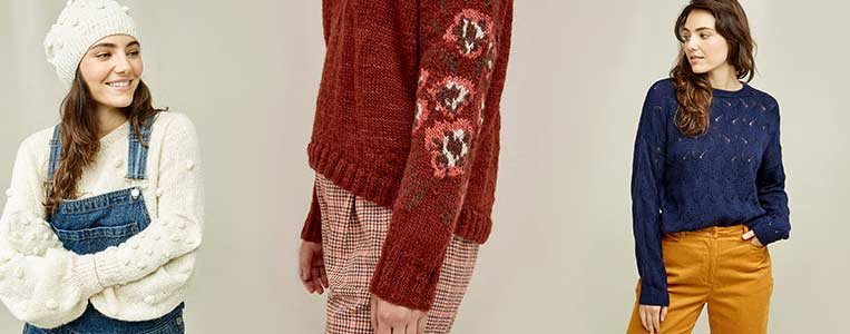 sustainable clothing brands with ethically made knitwear