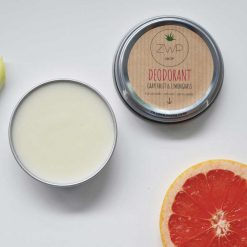 deodorant in a tin
