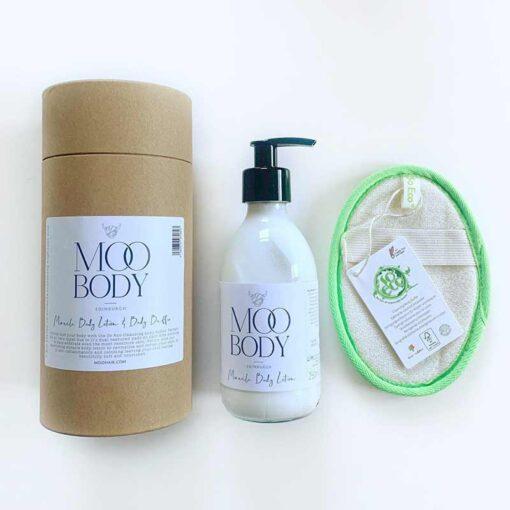 body lotion gift tube