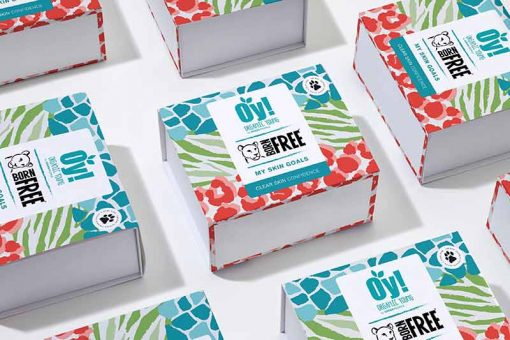 teenagers clear skin gift set in box