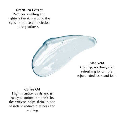 mens energising eye gel ingredients image