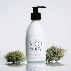 plastic free body lotion with pump