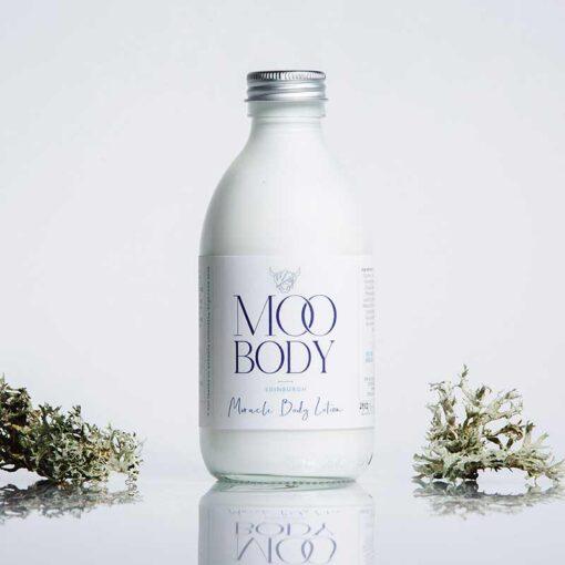 plastic free body lotion with aluminium lid