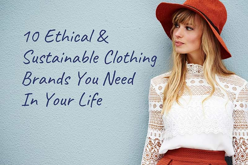 sustainable clothing brands banner image
