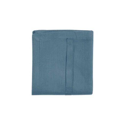 1041 510 KitchenTowel GreyBlue Folded