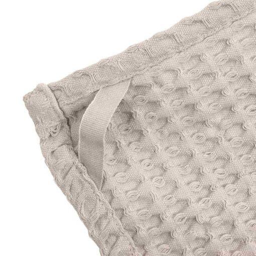 organic wash cloth with hook