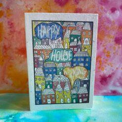 happy house warming plantable card by loop loop