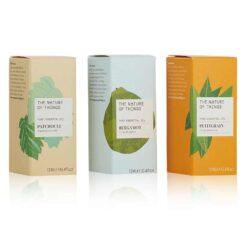 organic oils gift set