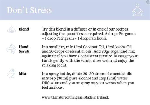 organic oils instructions
