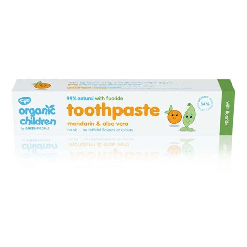 fluoride toothpaste for kids packaging