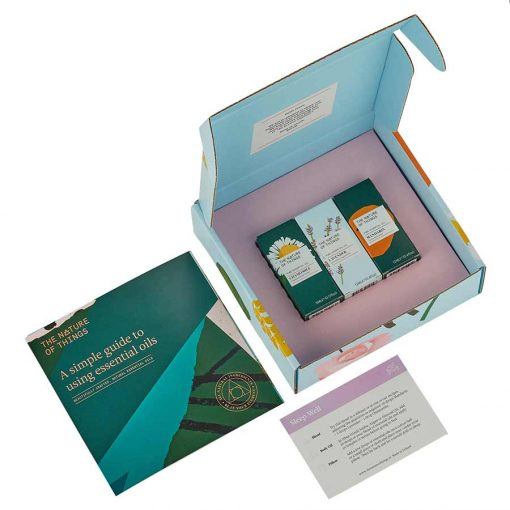 sleep well gift set box