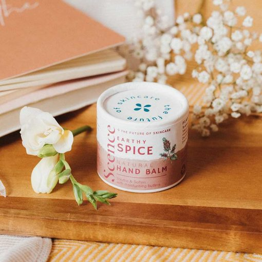 earthy spice natural hand balm