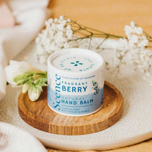 fragrant berry natural hand balm