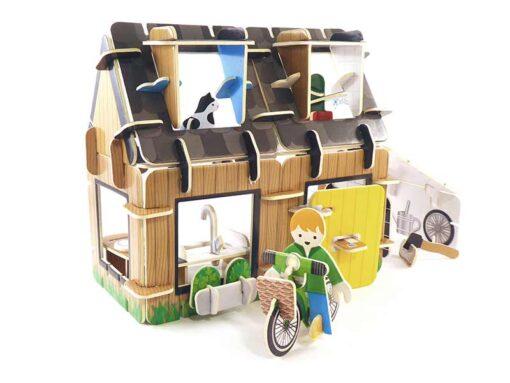 eco house play press toys
