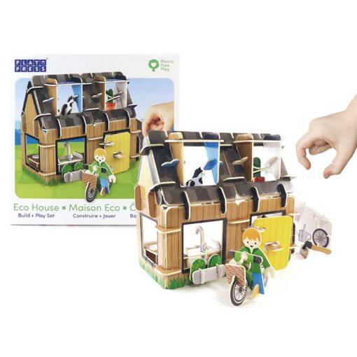 eco house plastic free toy