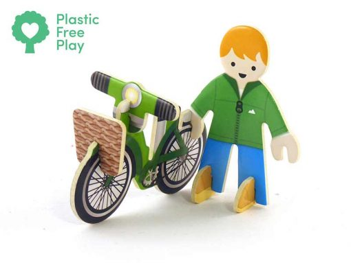 man from eco house playset