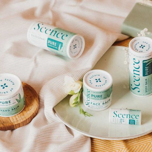gentle face balm with other products