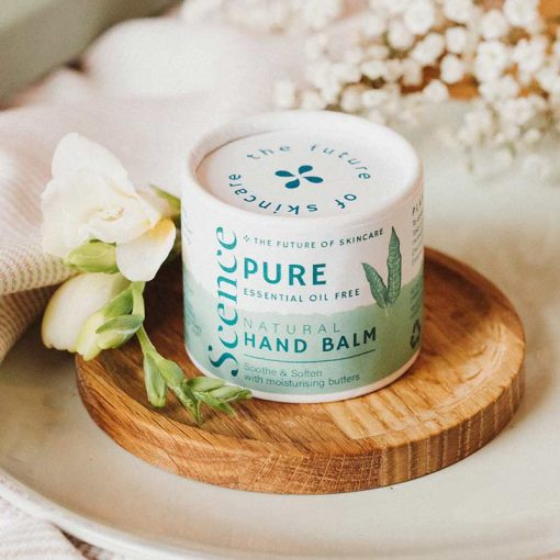 unscented natural hand balm