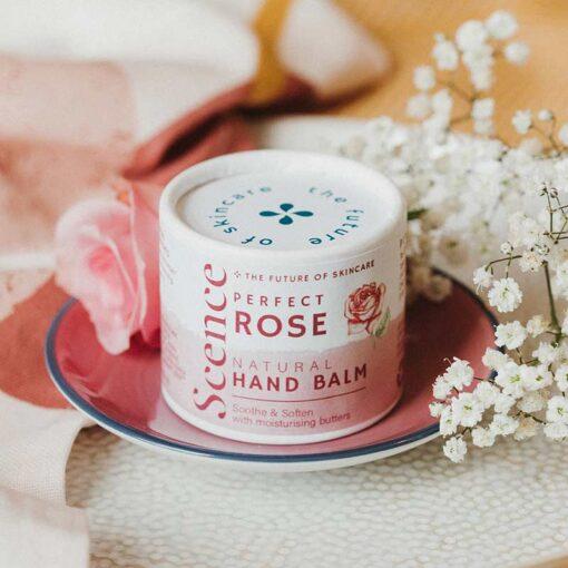 rose natural hand balm