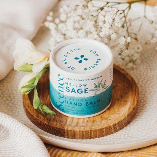 mellow sage natural hand balm