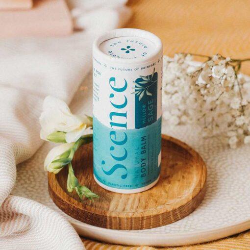 mellow sage moisturiser in cardboard tube
