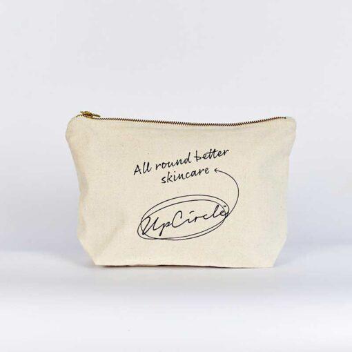 fairtrade cotton wash bag