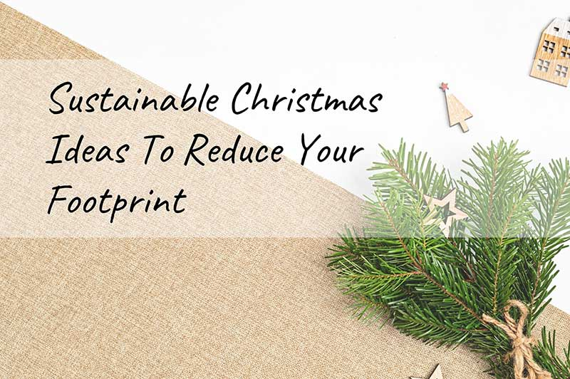 eco friendly christmas ideas banner