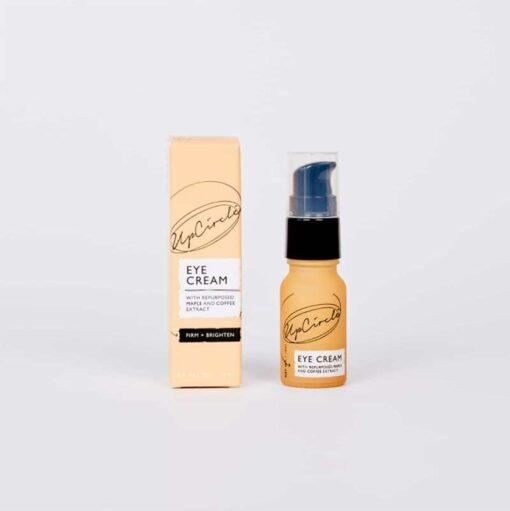 coffee eye cream with hyaluronic acid