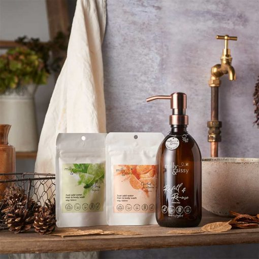 hair and body wash gift set