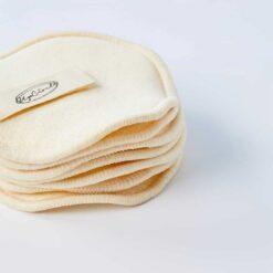 reusable makeup pads pilled togther