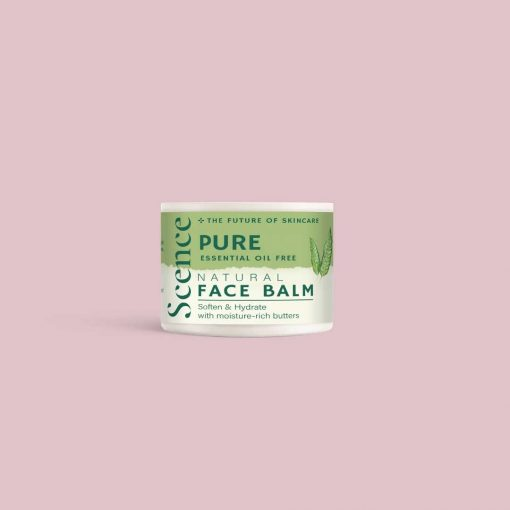 gentle face balm on pink background