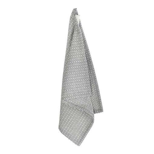 light grey organic cotton wash cloth hanging up