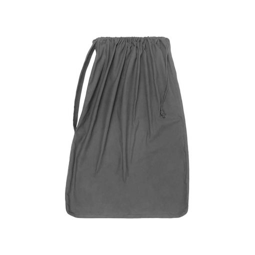 extra large laundry bag in grey