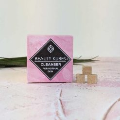 beauty kubes face cleanser cubes in packaging