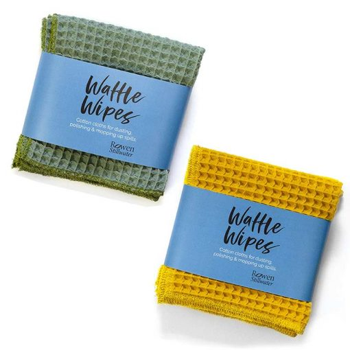 waffle wipes cleaning cloths