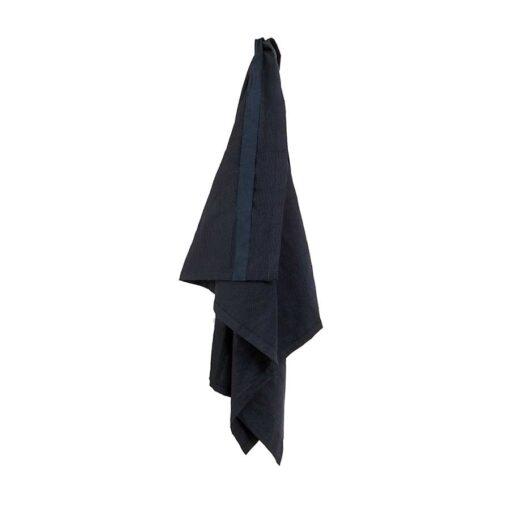 organic cotton wellness towel hanging up