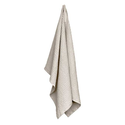 large waffle bath towel
