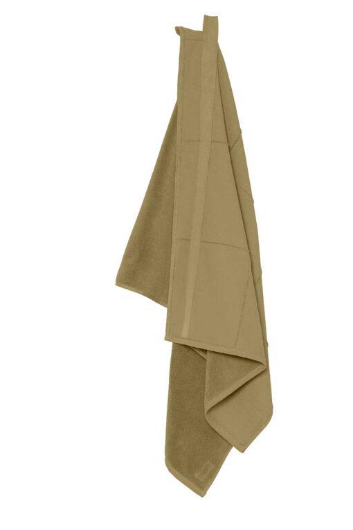 khaki towel wrap