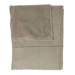 clay towel wrap folded up