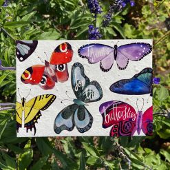 thanks for the butterflies card