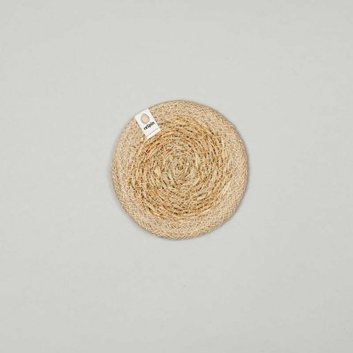 seagrass and jute coasters
