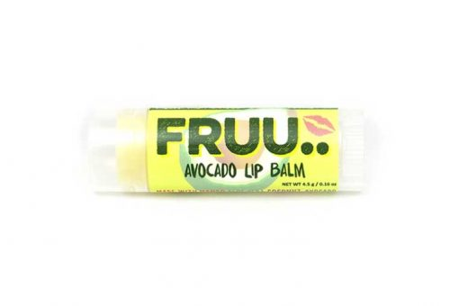 avocado lip balm in a lip balm gift set